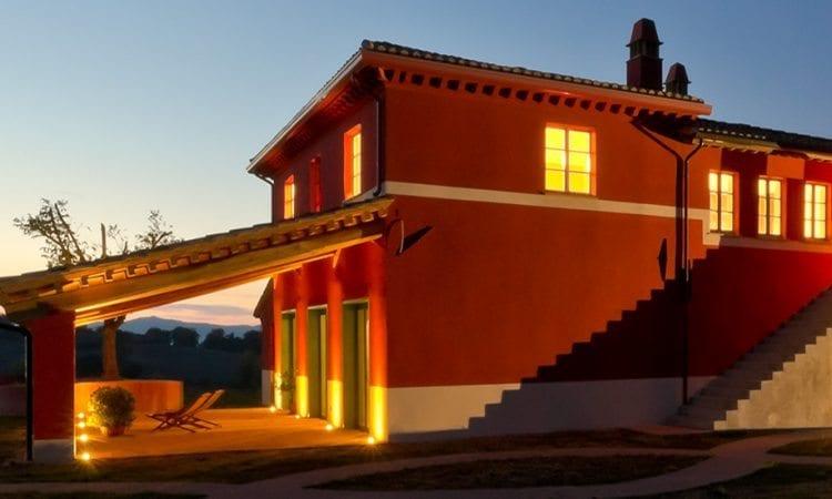 Perugia agriturismo aldolcefarniente notte